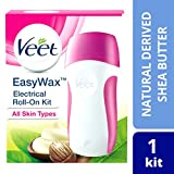 Veet Easy Wax Naturals Electrical Roll-On Kit