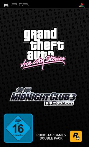 Grand Theft Auto: Vice City Stories + Midnight Club 3 - City Vice Grand Psp Theft Auto