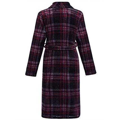 CHUNHUA L'automne et l'hiver Loi (fibre de polyester) Les pyjamas brossés service à domicile robe peignoir (couleur en option) , e , one size f