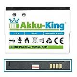 Akku-King Akku ersetzt Blackberry D-X1, BAT-17720-002 - 1400mAh - für 9500 Storm, 9550, 9530, Storm 2, Tour 9630, Curve 8900, 8930, Bold 9650