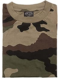 Mil-Tec - T-shirt -  Homme French Army CCE Camo