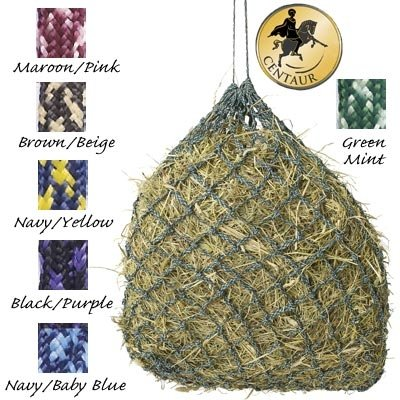 Niblet Slow Feed Hay Net Trailer, Black/Purple by English Riding Supply