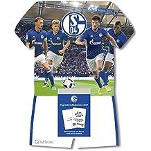 Schalke 04 Tagesabreißkalender 2017 - Fußballkalender Schalke, tägliches Kalenderblatt  -  24 x 30 cm