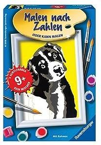 Ravensburger Spiel 29848 - Juego de Pintar guiado por números, diseño de Cachorro Importado de Alemania