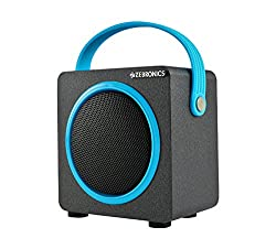 Zebronics Smart Portable Bluetooth Speake with USB | FM | TF Card slot (Blue)