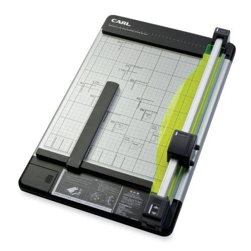 Slicer-board (CARL Rollschneidemaschine, strapazierfähig, 30,5 cm drehbares Element 12-Inch schwarz/silber)