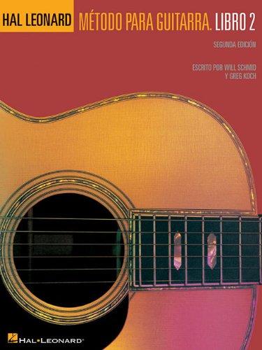 Metodo Para Guitarra Hal Leonard: Libro 2 (Book And CD)