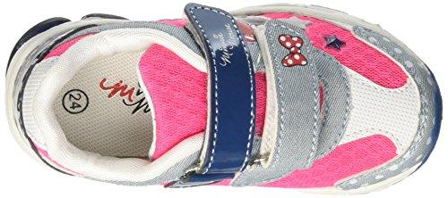 Minnie Running Light, Sneakers basses fille Blu (Denim)