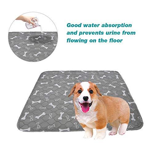 Foonee Waschbare Pet Pee Pads Für Hunde, 4 Layer Wiederverwendbare Puppy Pee Pad, Super Saugfähig, Auslaufsicher, Für Bett, Kiste, Whelping -
