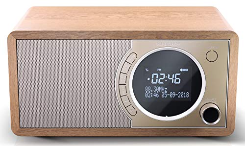 SHARP DR-450 (BR) DAB, DAB+ Digitalradio, Bluetooth,