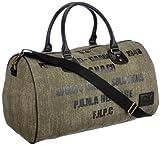 PUMA Tasche Originals Barrel Bag Canvas - Maleta, color verde, talla UA