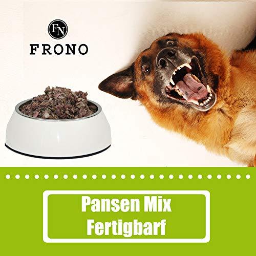 Frostfutter Nordloh Barf-Paket Premium Pansenmix, 10 kg Barffleisch für Hunde