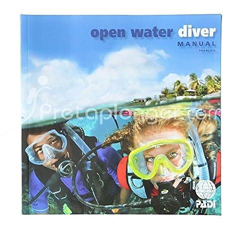 Manuel PADI Open Water Diver avec option ordinateur de plongée