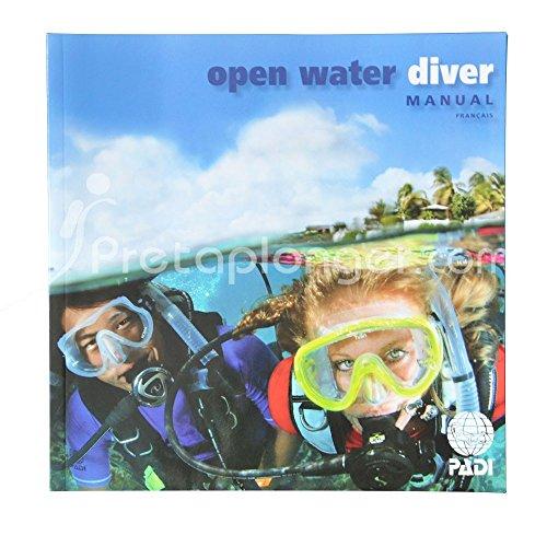 Padi Manuel Open Water Diver avec option ordinateur de plongée intégrée - VF