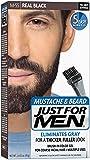 Just For Men Color Gel for Moustache Beards and Sideburns Real Black