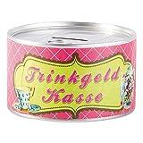 Trendhouse GmbH Wunderle Spardose Konserve für bestimmte und Besondere Anlässe (Trinkgeldkasse)