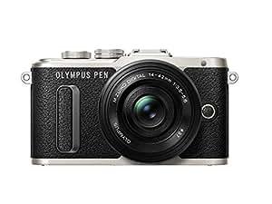 Olympus E-PL8 Fotocamera con Obbiettivo 14-42 mm, Nero