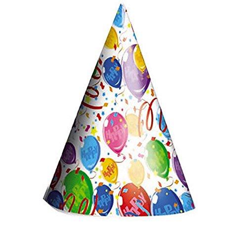 BiG Party 6 Cappellini Happy Balloons