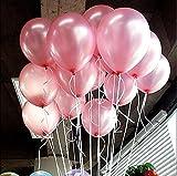 Wicemoon 100PCS Colorful Latex matt Luftballons für Geburtstage Hochzeiten Feiertage und besondere Anlässe Celebration rose