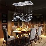 GU10 modernen und einfachen Kristall-Kronleuchter Spirale Villa Penthouse Stehlampe Treppenhalle LED-Kristall-Kronleuchter