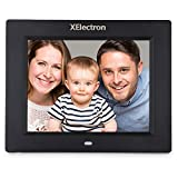 XElectron Digital Photo Frame with Remote (Black)