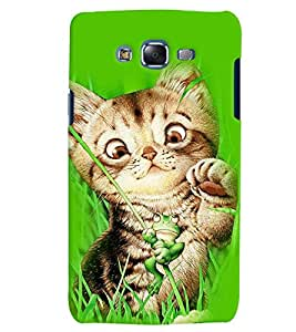 Citydreamz Cute Cat/Cartoon/Funny Hard Polycarbonate Designer Back Case Cover For Samsung Galaxy J5 2016 /J56/J510