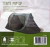 2 Personen Wurfzelt Camping Outdoor Zelt Pop-Up Zelt mit eingenähtem Boden Grün -