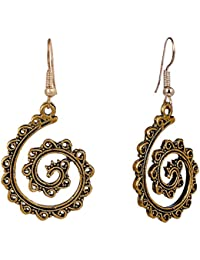 Golden Earrings , Artificial Jewellery Designer Gold Plated Earrings Set For Girls And Women,Gold Plated & Traditional...