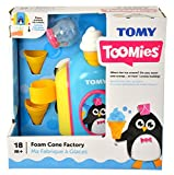 TOMY Toomies Foam Cone Factory - Ice Cream Themed Bubble Making Bath Toy - Suitable From 18 Months