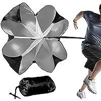 Lixada Running Speed Training Paracaídas de Resistencia, Correr Sprint Chute, Fútbol Deporte Fuerza Velocidad Entrenamiento Paraguas