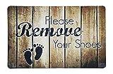 WMEETS - Felpudo de Color Resistente Antideslizante con Fieltro de Lana, Lavable, Chenilla, Remove Shoes 40 * 60
