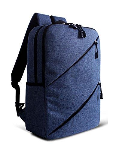 Keshi Canvas Cute Girl Backpack Satchel Sapphire Blue