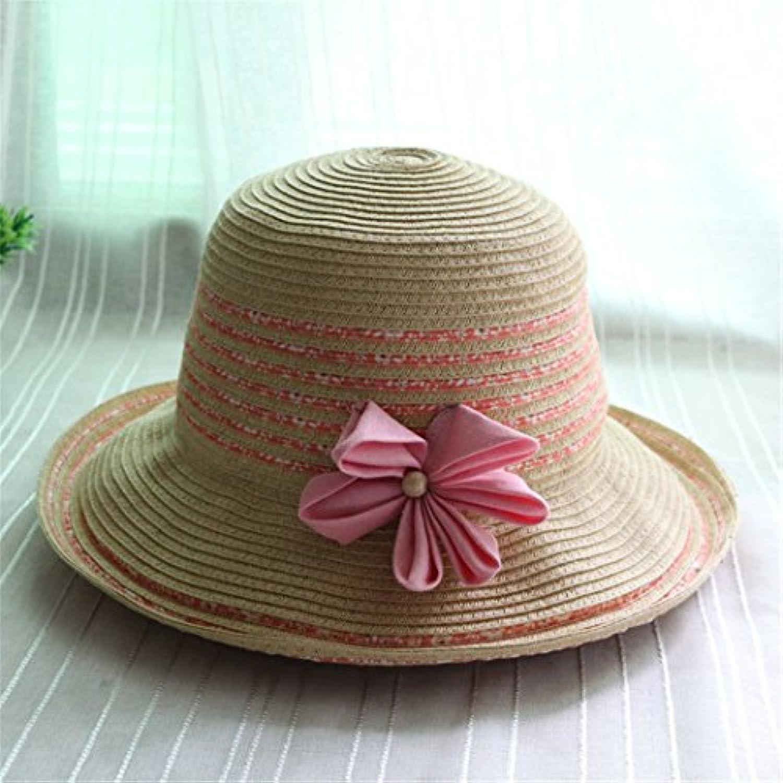 WY-scarf a Cappello da Sole Cappello a WY-scarf Strisce Cappello Pescatore Cappello  Cappello da Sole Fiore Curl 3ff8ad0b55a7