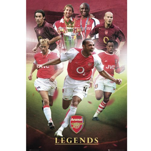 "Poster - Arsenal F.C ""Legends\"" (79)"