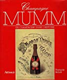 Telecharger Livres Champagne Mumm (PDF,EPUB,MOBI) gratuits en Francaise