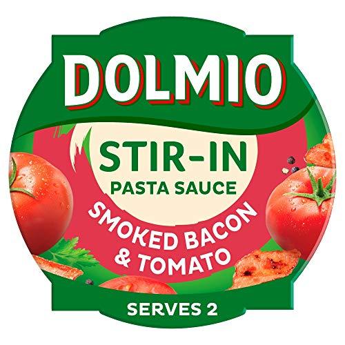 Dolmio Pasta Sauce Stir-In Smoked Bacon & Tomato, 150g