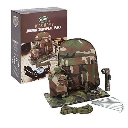 Kinder- Armee-Tarnung Junior Survival- Pack - Kinder Armee (Kinder Armee Kit)
