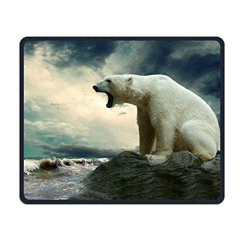 Wireless Mouse Pad, Polar Bears Mouse Pads, FoldableMouse Pad Mat for Women Men at Home or Work - Womens Polar Bear