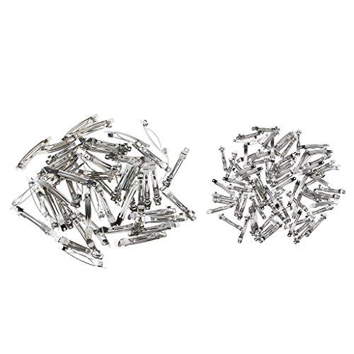 sharprepublic 100 Stücke Multi Metall Haarspange DIY Dame Girl Französisch Haarspangen Haarschmuck