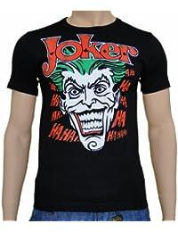 Batman - Joker Logoshirt T-Shirt Black, S