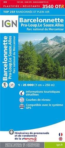 3540OTR BARCELONNETTE/PNR DU MERCANTOUR (RESISTANTE)