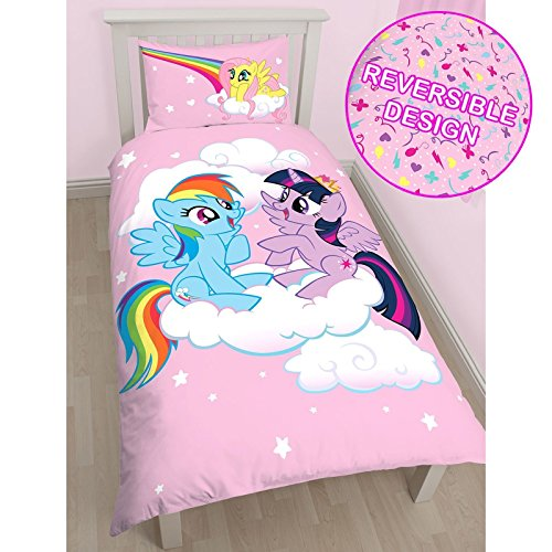 Reversible Bettwäsche My little Pony Equestria Single Kinder-Bettwäsche-Set MLP, My Little Pony