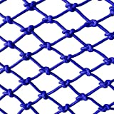 DLYDSSZZ Kindersicherheit Schutz Seil Netz blau treppe balkongeländer Trampolin Anti-Fallen...