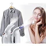 ISABELLA Handheld Garment Steamer Iron And Facial Steamer For Home And Travel (Colour May Vary Pink Or White)