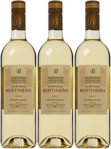 £28.64 Good Chateau Bertinerie Blanc 2011 Wine 75 cl (Case of 3)
