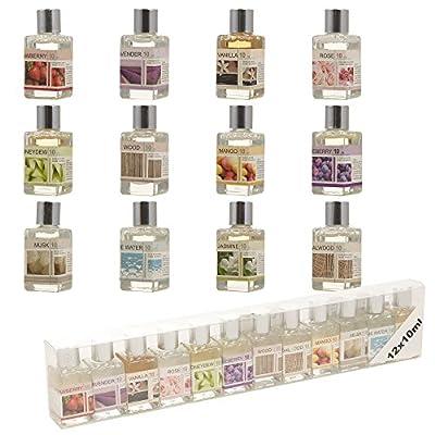 Set Of 12 Assorted Oil Burner Refill For Ceramic Fragrance Home Aromatic Gift