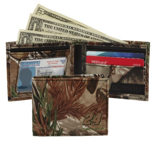 NASCAR Hendrick Motorsports Men's Gordon Billfold Wallet, Realtree Camo by NASCAR (Gordon Camo)