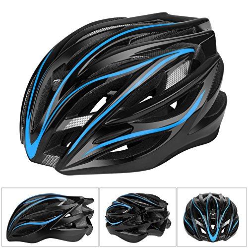 Six Foxes Fahrradhelm, Leichtgewicht Damen Herren Fahrradhelm Fahrrad Helm, Unisex Erwachsenen Specialized Rennradhelm mit 26 Belüftungsöffnungen, MTB Helm Fahrrad gr...