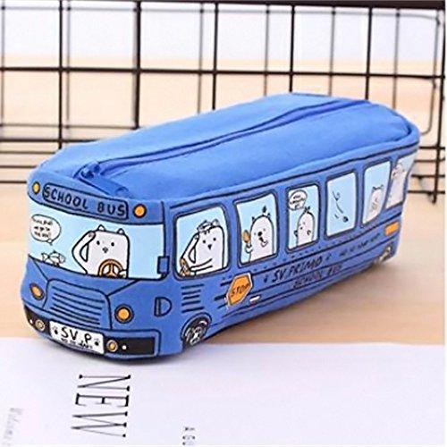 omaterial Räumungsverkauf❤❃,Schüler Kids Cats Schule Bus Bleistift Tasche Büro-Tasche FreeShipping ()