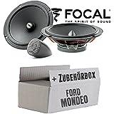 Lautsprecher Boxen Helix F 62c 16cm 2 Wege System Auto Einbauzubehör Einbauset Für Ford Mondeo Mk4 Ba7 Front Heck Just Sound Best Choice For Caraudio Navigation